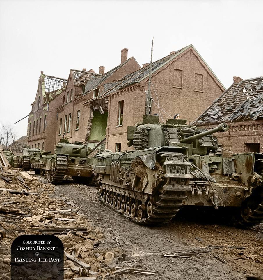 Colonne de Churchill (12 février 1945)