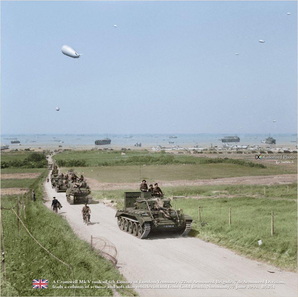 Cromwell Mark V (7 juin 1944)