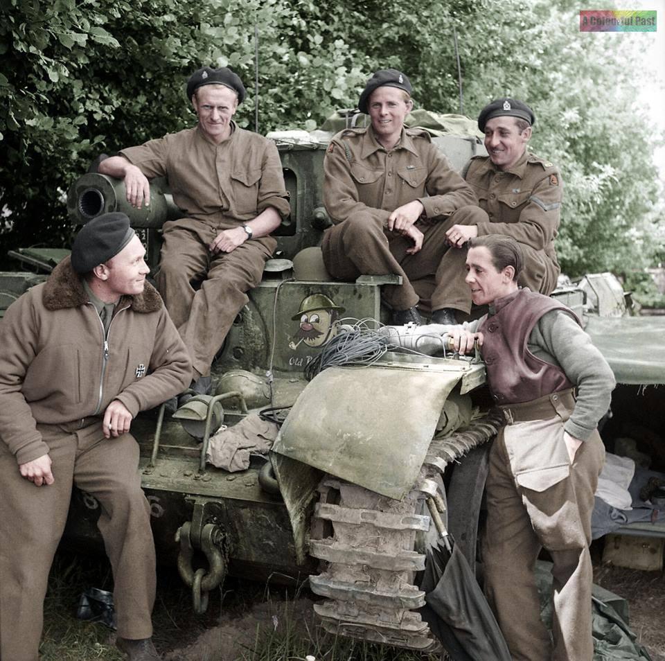 """Cromwell VI """"Vieux Bill"""" (17 juin 1944)"""