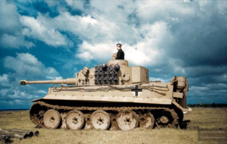 Test du Tigre I (été 1943)