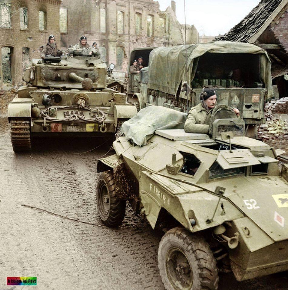 Reconnaissance en Allemagne (30 mars 1945)