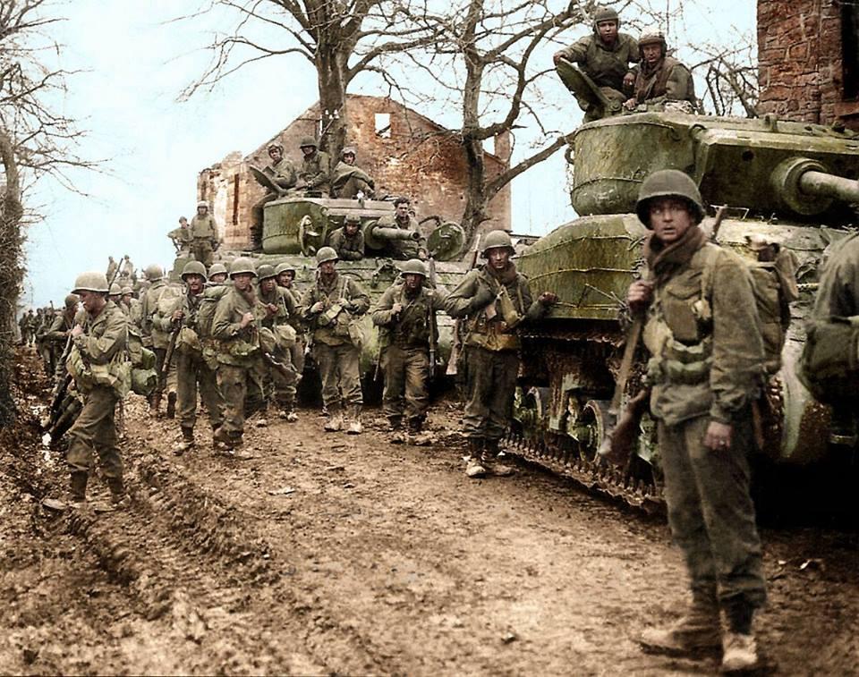 """M4A3E2 """"Jumbo"""" (21 février 1945)"""