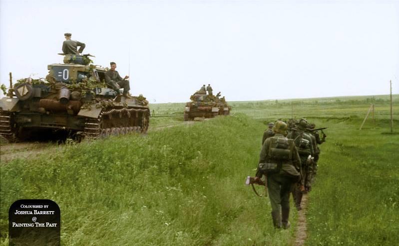 Panzer IV ausf. F2 montant au saillant de Rzevh (septembre 1942)