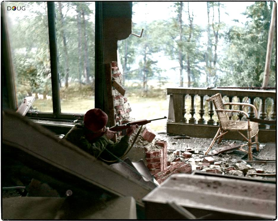 Viser et tirer (septembre 1944)