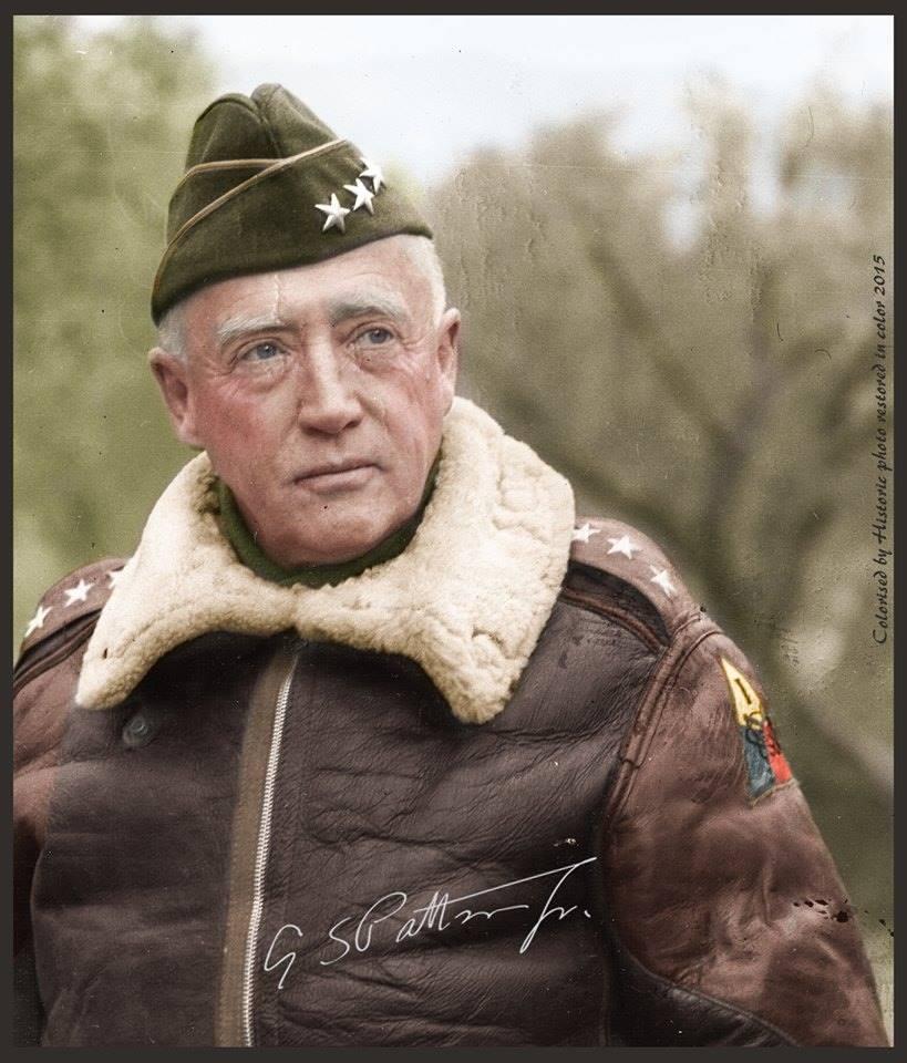 Photos colorisées d'infanterie sans date