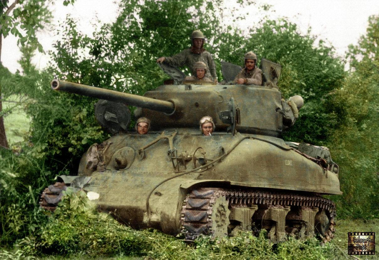 Sherman M4A1(76mm) (10 août 1944)