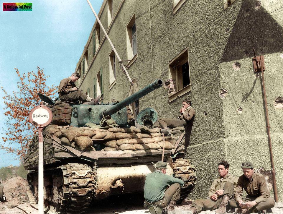 Sherman M4A3 en Allemagne (7-11 avril 1945)