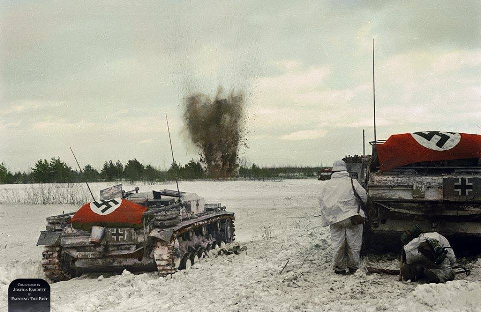 Photos colorisées de chars 1941