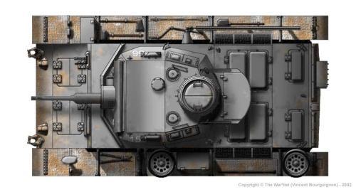 Panzer III ausf. F (fin de production) dessus