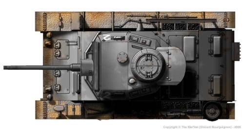 Panzer III ausf. H (fin de production) dessus