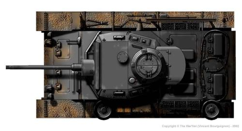 Panzer III ausf. J (fin de production) dessus