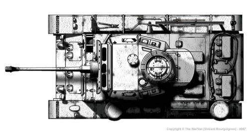 Panzer III ausf. L (fin de production) dessus