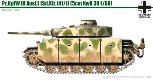Panzer III ausf. M côté