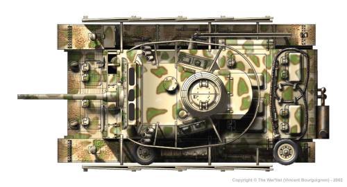 Panzer III ausf. M dessus