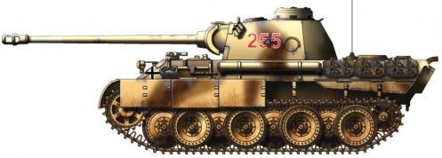 Panther ausf. D2 côté