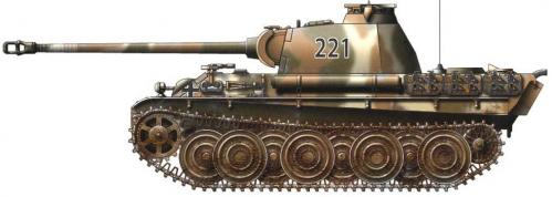 Panther ausf. G (milieu de production) côté