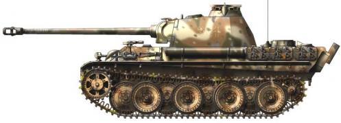 Panther ausf. G (fin de production) côté